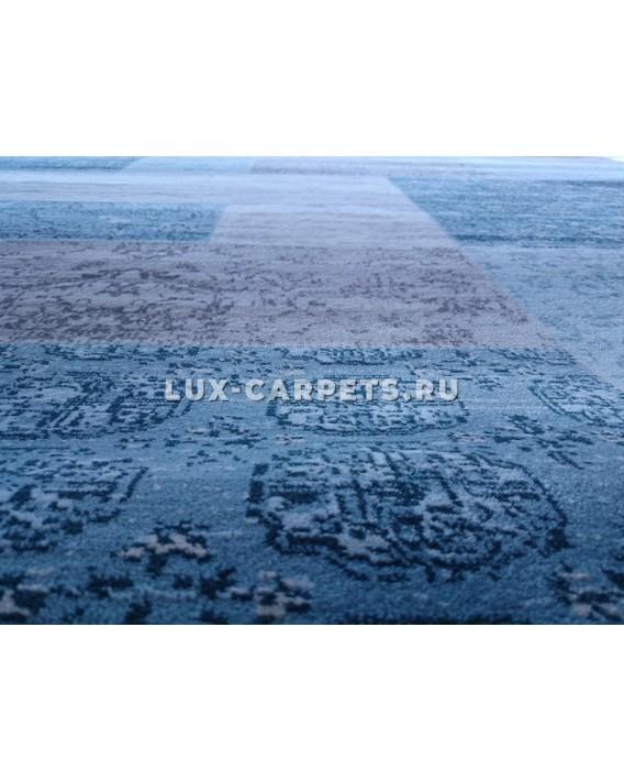Ковер 2.4x3.4 Grand Aqua 2091F d.blue/beige