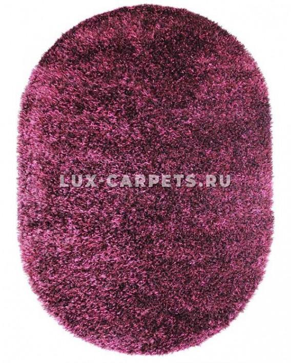 Ковер 1.7x2.4 Indien Shaggy Speyder plum oval 19749/38