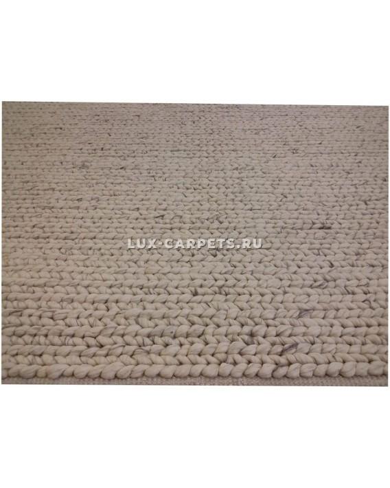 Ковер 1.70х2.40 Indien Zopf Links Lt. Grey 100 % Wolle