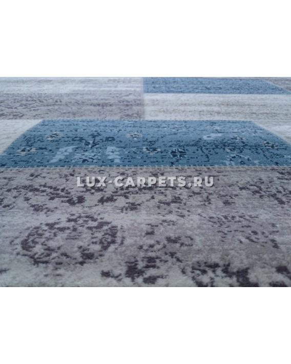 Ковер 1.6x2.3 Grand Aqua 2091F d.blue/beige