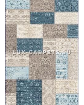 Ковер Grand Aqua 2091F d.blue/beige