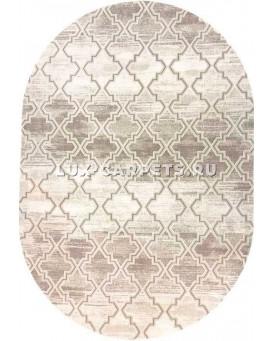 Ковер Grand Aqua 2323B beige/beige oval
