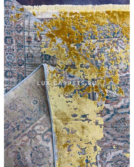 Ковер Historia Overdye 3024A d.beige/gold