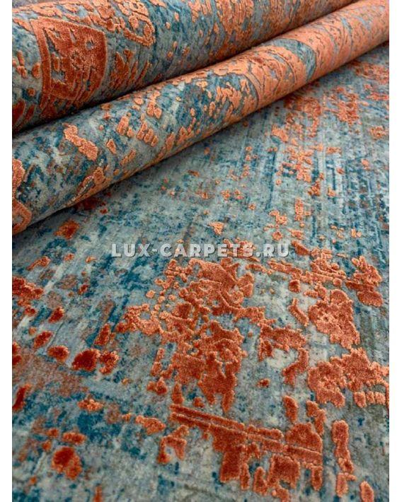 Ковер 0,80х1,50 Historia Overdye 3025C cream/orange2